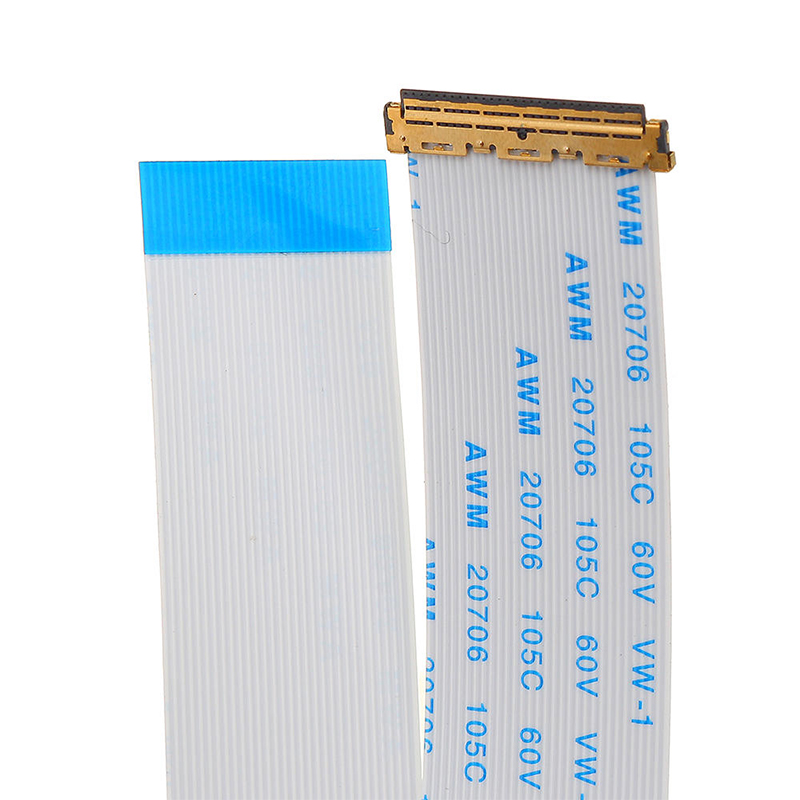 Custom 40pin 30pin IPEX LVDS FFC flat Flex Cable For Lcd Panel