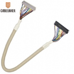 DF14 to DF20 lvds twist cable for mall LCD display