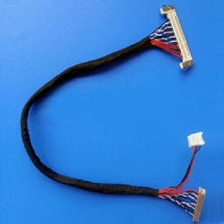 LVDS cable assemblies with 30pin molex connectors