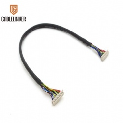 wire harness lvds cable lcd cable assembly for electronics