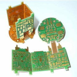 Flex Print Circuit Board Polyimide Rigid PCB Fabrication