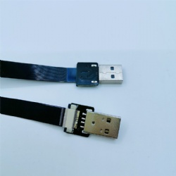 USB FFC USB cable FPV Accessory Flat Slim Thin Ribbon FPC USB cable to USB standard A for FPV
