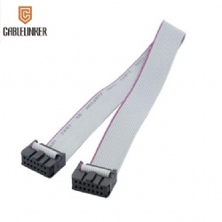 Custom ribbon cable female connector IDC flat cable